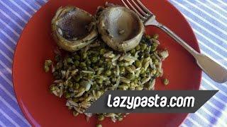 Lazy Pasta Recipe : Chickpeas And Artichoke Hearts Orzo à La Polita
