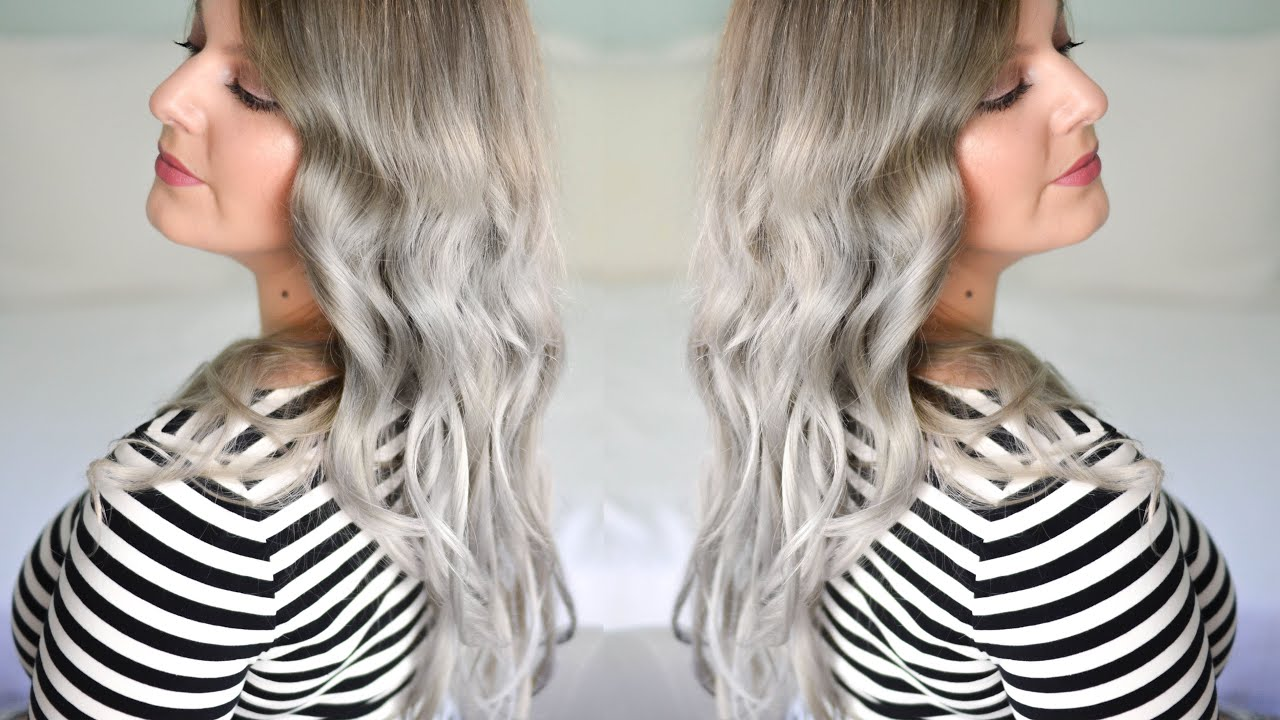 Silber farbe haare  Grannyhair: Tipps & Tricks für silber Haare | Karinista - YouTube