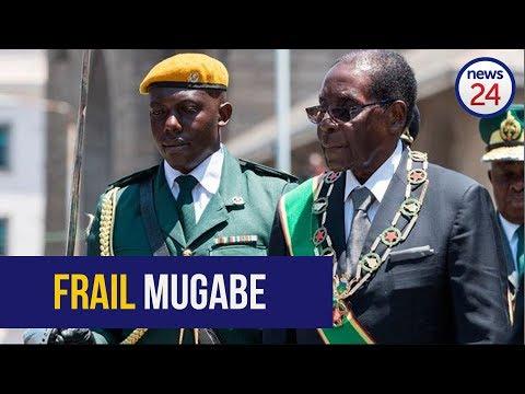 Mugabe struggles to walk after addressing UN General Assembly