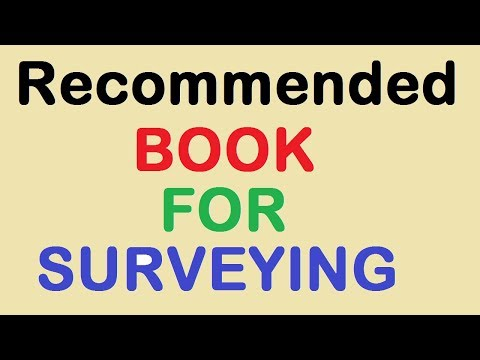 Recommended Book For Surveying By Learning Technology