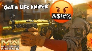 """GeT a LiFe kNiFeR"" (Modern Warfare Knife Only Reactions)"