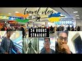 Travel vlog | India to Ukraine | 24hours of travel | shot on honor6x
