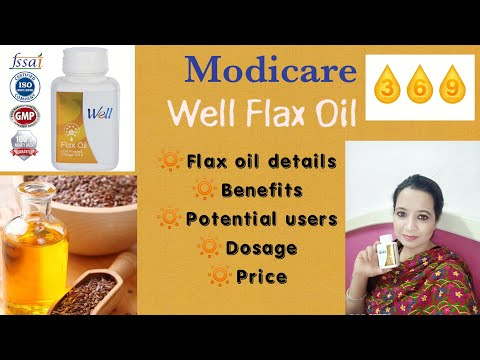 Modicare Well Flax Oil || Benefits |