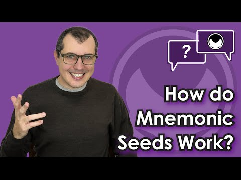 Bitcoin Q&A: How do mnemonic seeds work?