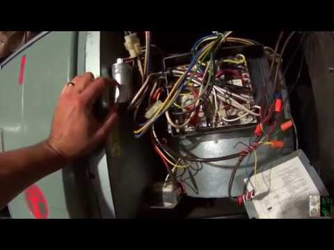 Bypassing a Furnace Control Board in Cooling
