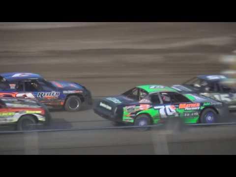 IMCA Stock Car feature Independence Motor Speedway 7/29/17