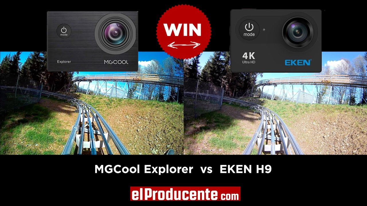 Eken H9 - 4K action camera - Review & Manual - el Producente