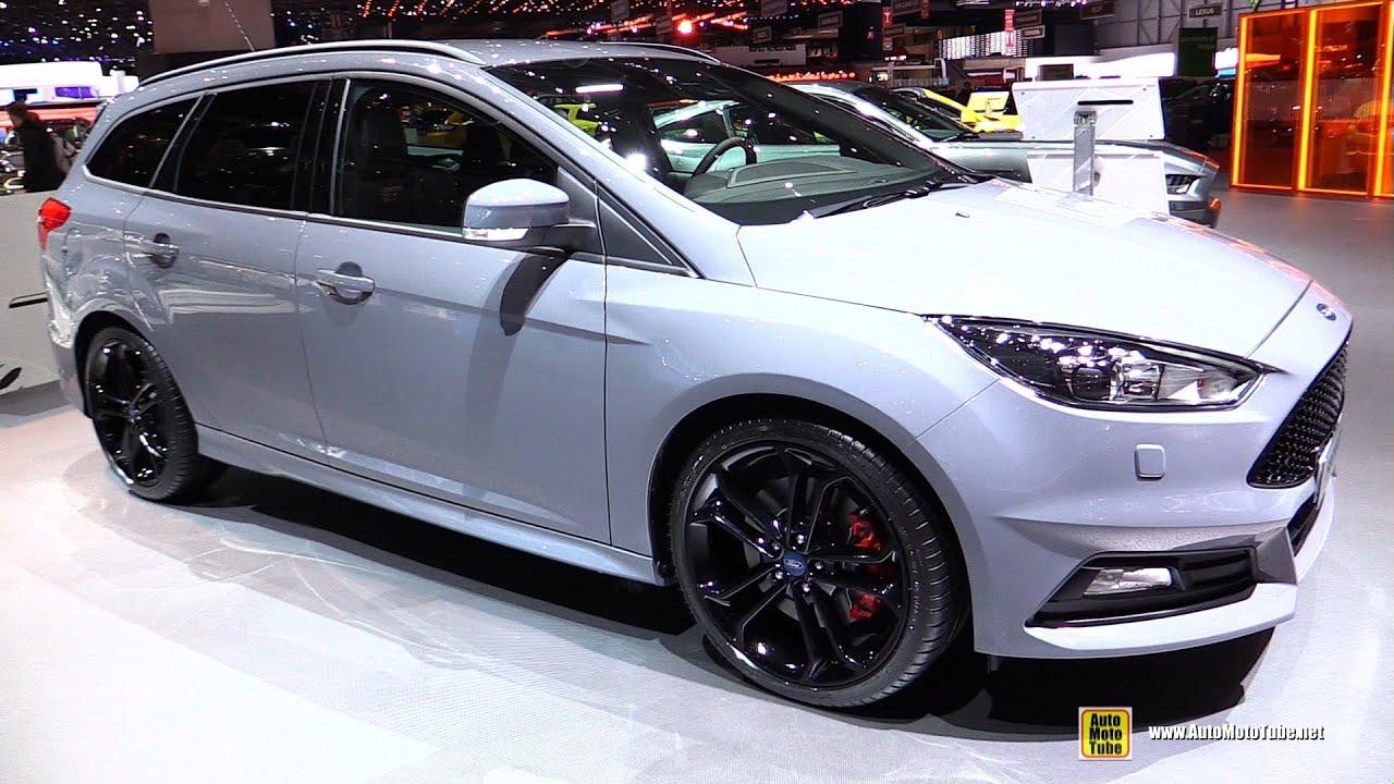 2016 Ford Focus St Wagon Exterior And Interior Walkaround Geneva Motor Show