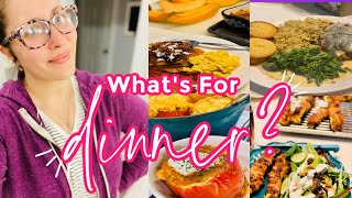 WHAT'S FOR DINNER? 4 FAMILY MEAL IDEAS