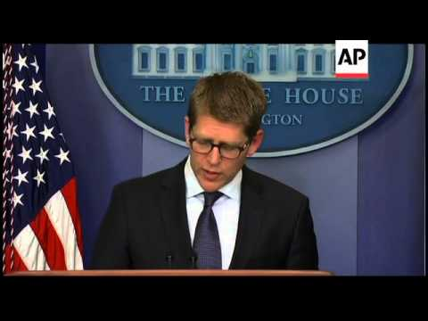 +4:3 White House and State Dept on  Syria embassy closure, Egypt NGO row