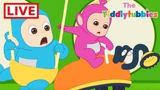 Teletubbies LIVE ★ NEW Tiddlytubbies 2D Series ★ Episodes 1-9 Tiddlytubbies Party ★ Cartoon for Kids