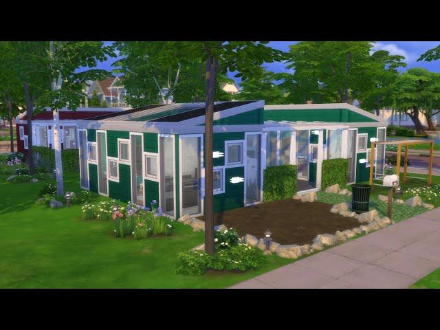Sims 4 - Tiny Living - Tier 2 Lakóház hat személyre