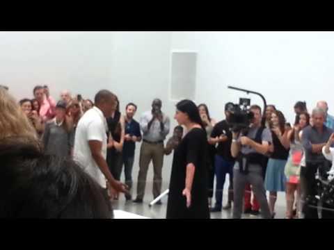 Me At Jay-Z's Picasso Baby Video Shoot Pt 1 (Marina Abramovic)