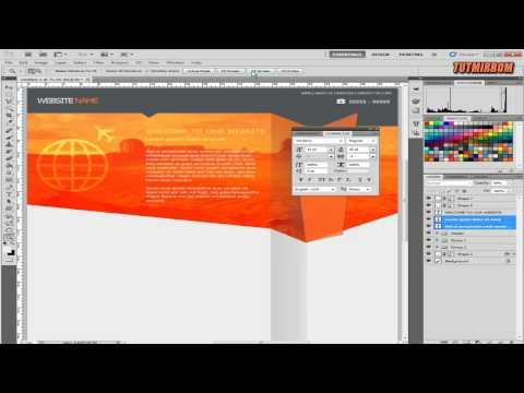 photoshop-tutorial-web-design-flat-style