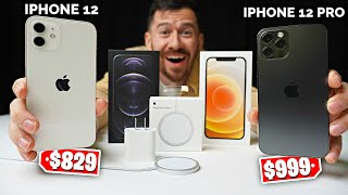 iPhone 12 Vs. iPhone 12 Pro Unboxing! Apple just changed everything..