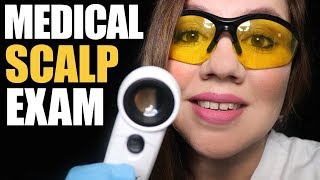 ASMR MEDICAL SCALP EXAM RP
