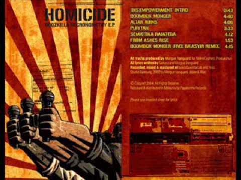 Homicide - puritan (god blessed fascists)