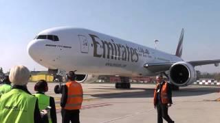 Aeroporto di Bologna. Volo Bologna Dubai by Emirates Airline