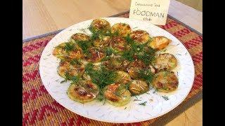 Жареный кабачок с чесноком: рецепт от Foodman.club