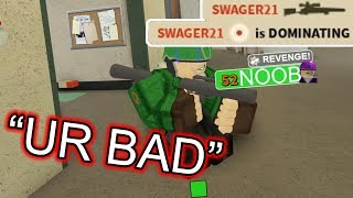 CE GUY CALLED ME BAD, SO I DOMINATED HIM (fr) TC2 ROBLOX