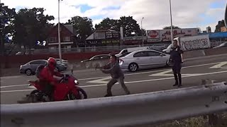 Motorcycle Chase Ninja 250 by NYPD Charger Tackle