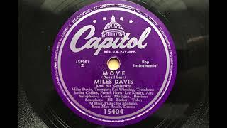 Miles Davis - Move - 1949 - Capitol 15404 - 78 RPM
