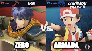 ZeRo vs Armada - Super Smash Bros. Ultimate Invitational at E3 2018