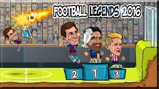 Football legends 2016 Game Walkthrough (Full Tournament)
