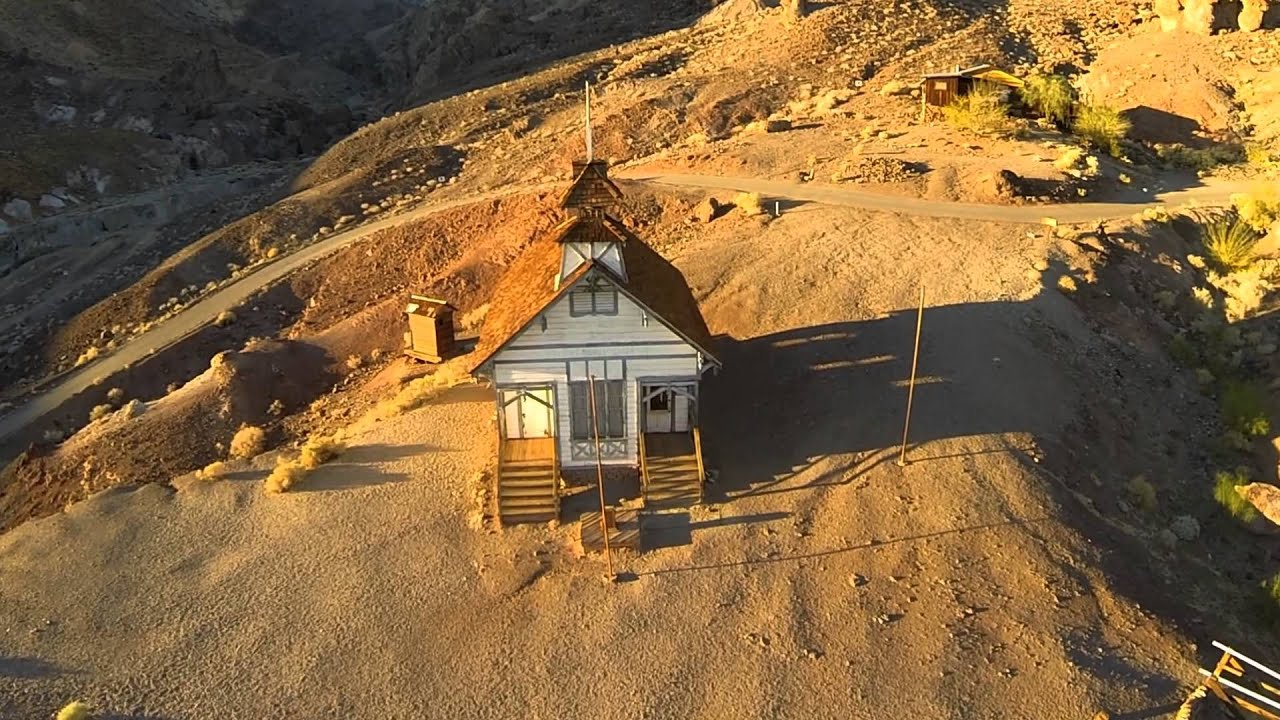 calico ghost town aerials - youtube