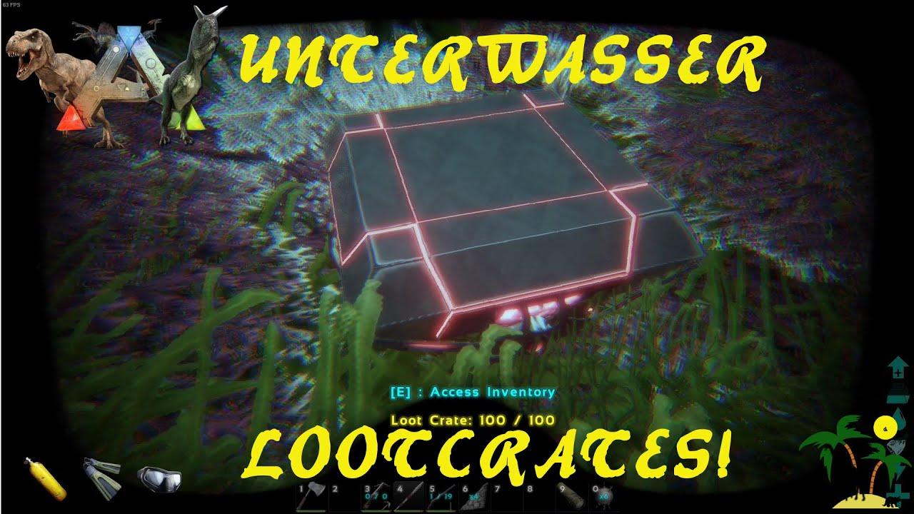 Ark Survival Evolved Unterwasser Lootcrates Wo Findet Man Sie