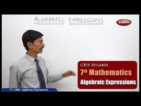 Algebraic Expressions | Class 7th Mathematics | NCERT | CBSE Syllabus | Live Videos