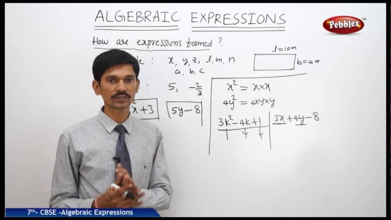 Algebraic Expressions   Class 7th Mathematics   NCERT   CBSE Syllabus    Live Videos