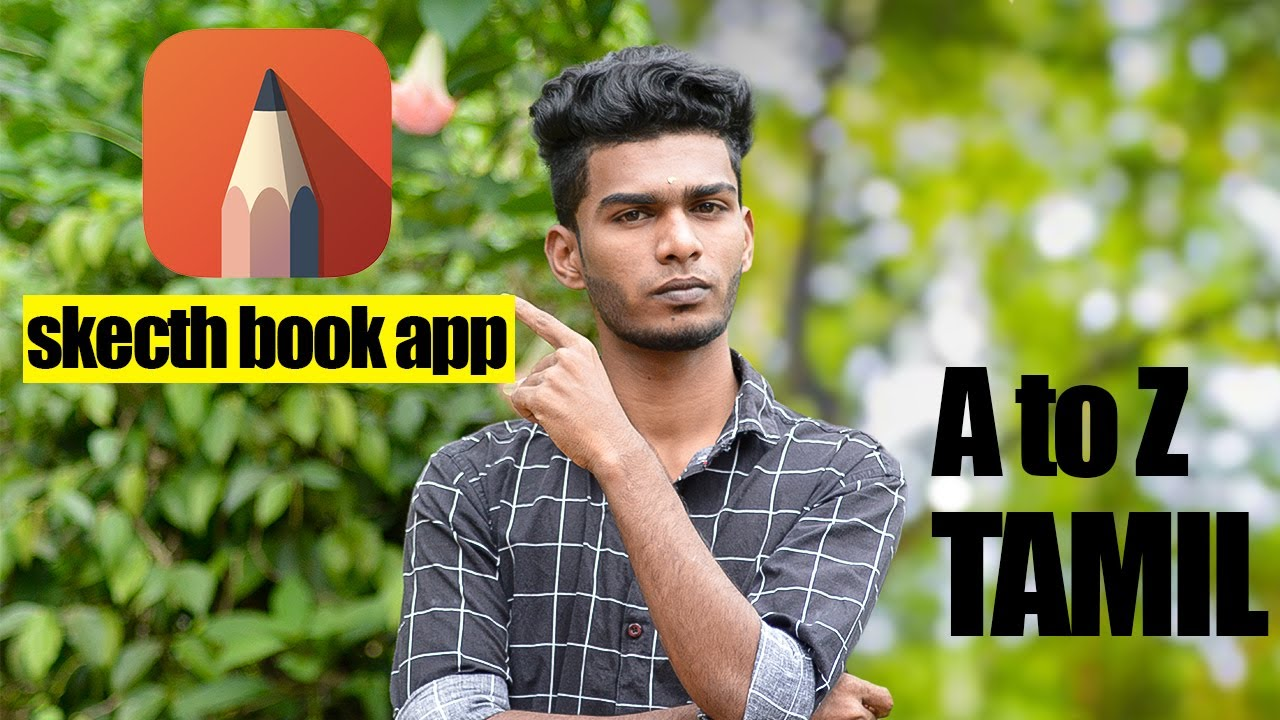 Sketch book app in tamil tool explanation | photography tamizha | tamil editing