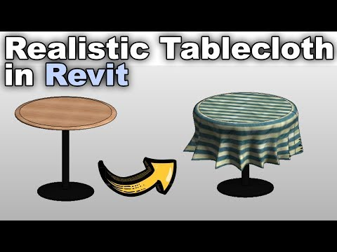 Realistic Tablecloth in Revit Tutorial thumbnail