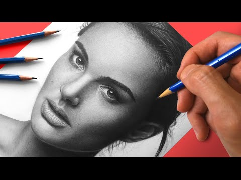 Natalie Portman   Speed Drawing