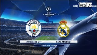 PES 2018 | Manchester City vs Real Madrid | UEFA Champions League (UCL) | Gameplay PC