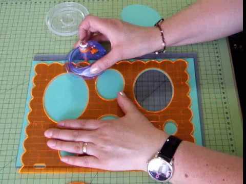 Fiskarettes fiskars shapecutter youtube for Paper cutter for crafts