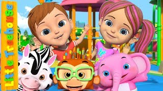 If You're Happy | Song for Babies | Kindergarten Nursery Rhymes For Children by Little Treehouse