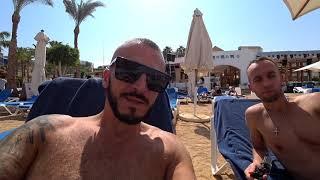 Египет Сервис в 3 Огромная очередь Пляж Наама бей отель Sharm Cliff Resort