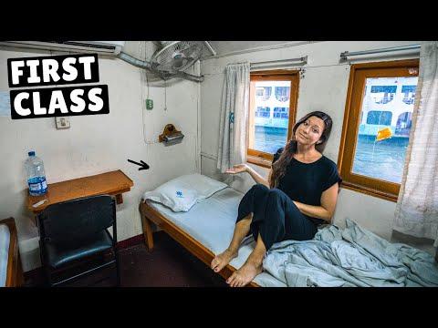 We Slept on Bangladesh's 100 Year Old Cruise Ship (full tour)