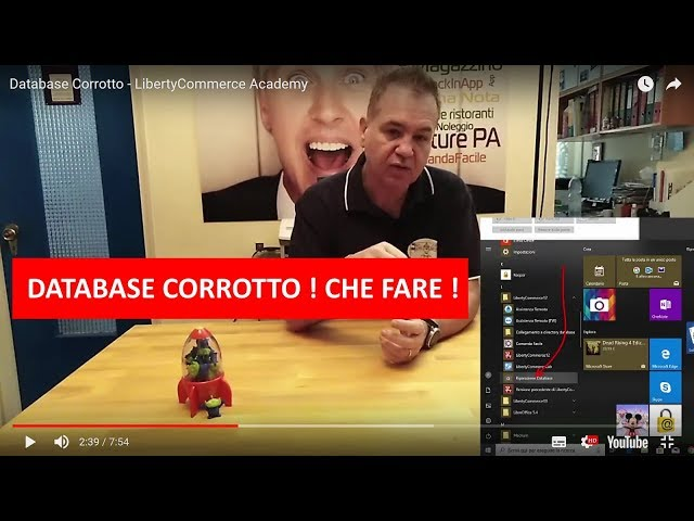 Database Corrotto - LibertyCommerce Academy