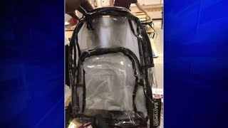 Stoneman Douglas students return to school with clear backpacks