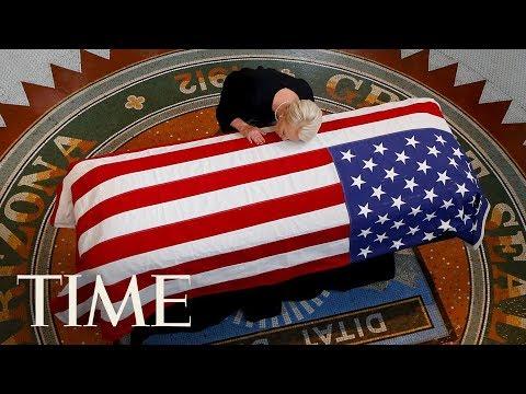 John McCain's Family Bids Him Farewell At Arizona State Capital | TIME