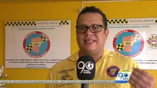Enero 4 2017 - Taxistas rechazaron nueva medida de Pico y Placa que los cobijará