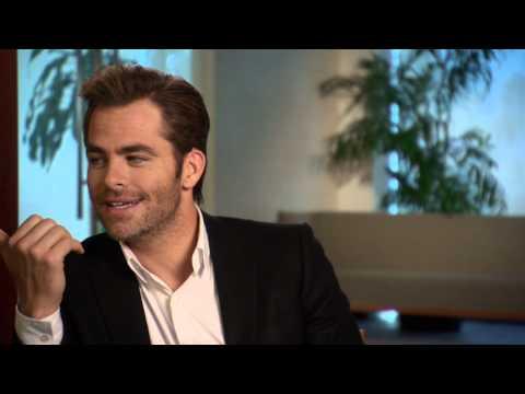 "Horrible Bosses 2: Chris Pine ""Rex Hanson"" Behind the Scenes Movie Interview"