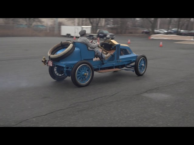 Renault Vanderbilt Racer at the Simeone Foundation Museum