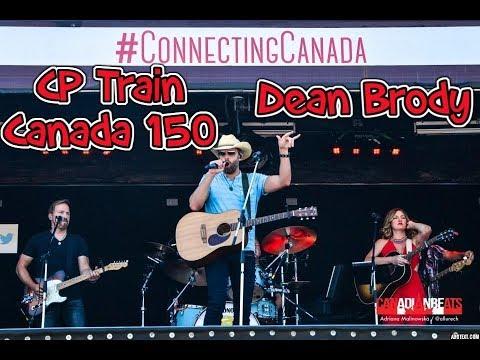 Dean Brody on the CP Canada 150 Train Hamilton