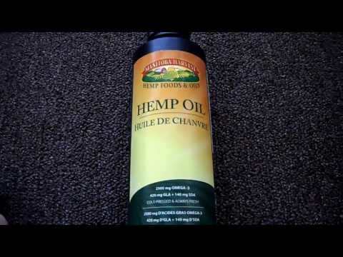 Manitoba Harvest Hemp Oil Softgels 60 1000mg Bottles Cbd