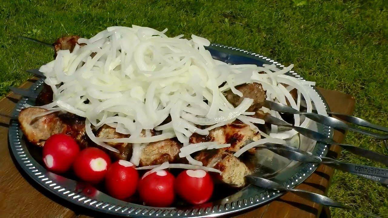 Шашлык из шейки свинины рецепт от сталика ханкишиева