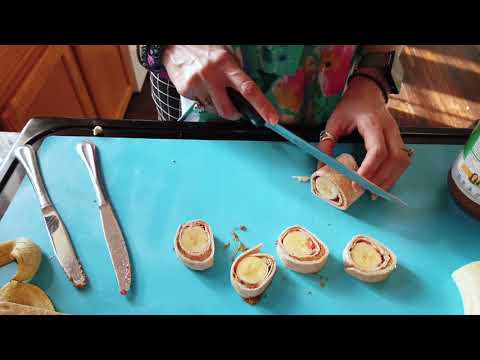 Fun Foodie Friday - Rollin' with Banana Sushi - Includes Visual Recipe